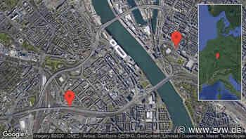 Mannheim: Konrad-Adenauer-Brücke gesperrt aufgrund von Straßenarbeiten zwischen Kurpfalzstraße/Landgericht und Neue Brücke in Richtung Mannheim - Zeitungsverlag Waiblingen