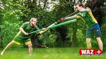 Rugby trifft Fechten: Trendsportart Jugger startet wieder - Westdeutsche Allgemeine Zeitung