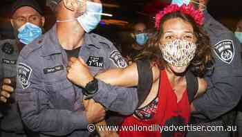 Israelis protest PM's handling of pandemic - Wollondilly Advertiser