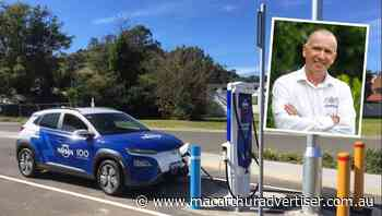 Electric vehicle charging station now available in Picton - Campbelltown Macarthur Advertiser