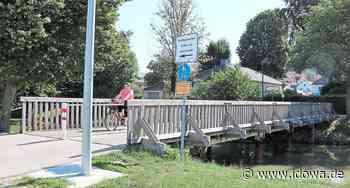 Mainburg: Unterer Brückensteg wird durch Stahlkonstruktion ersetzt - idowa