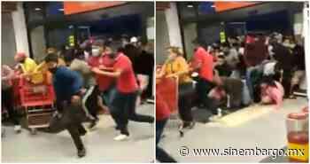 VIDEO: Gente olvida la pandemia y provoca estampida en Soriana de Chilpancingo por unos descuentos - SinEmbargo MX