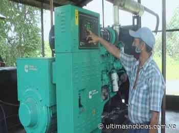 Instalan planta eléctrica en la población de Altamira en Guárico - Últimas Noticias