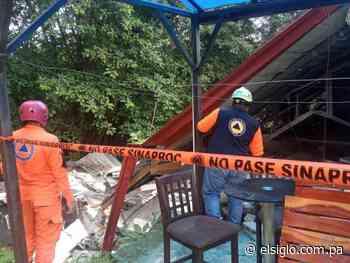 Vivienda colapsa en Betania - El Siglo Panamá