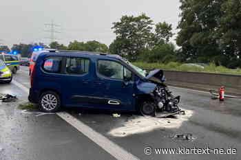 Feuerwehr Dormagen bei Unfall auf der A57 im Einsatz | Rhein-Kreis Nachrichten - Klartext-NE.de - Rhein-Kreis Nachrichten - Klartext-NE.de