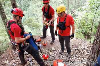 Search crews conduct rope rescue for hiker stranded near Ladner Creek Trestle - BCLocalNews