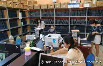 Reducen trámites en Registro Civil de Rioverde para prevenir contagios - Quadratín - Quadratín San Luis