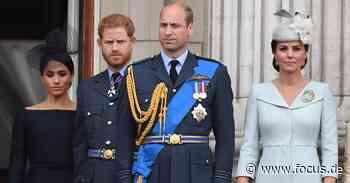 Royals: Prinz Harry soll treibende Kraft für Bruch mit Royals gewesen sein - FOCUS Online