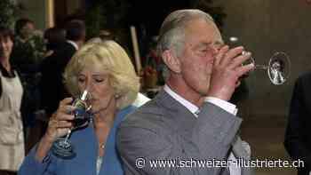 Charles, Camilla, Máxima: Bei einem Glas Alkohol vergessen die Royals die Etikette - Schweizer Illustrierte
