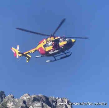 Corte : Un randonneur évacué par hélicoptère - Corse Net Infos