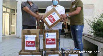 10 000 masques offerts pour la rentrée universitaire à Corte - Corse-Matin