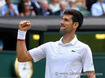 Ehemaliger Trainer: Die Leute können nicht verstehen, wie schnell Novak Djokovic ... - Tennis World DE