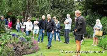La visite du jardin a connu un vif succès - Le Télégramme