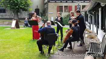 Albstadt: Schloss-Kulisse für Meister-Musiker - Albstadt - Schwarzwälder Bote