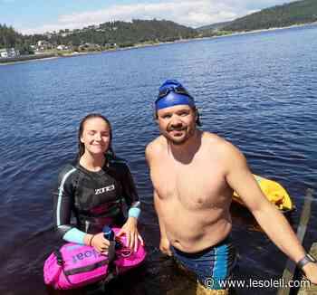 Philippe Belley et sa fille se donnent le défi de traverser le lac Saint-Jean en 2021 - Le Soleil - Groupe Capitales Médias