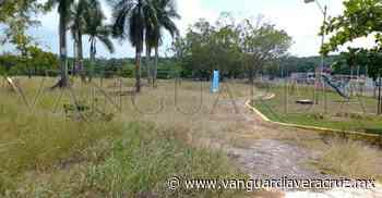 Pemex y ayuntamiento tienen abandonado parque infantil de Cerro Azul - Vanguardia de Veracruz