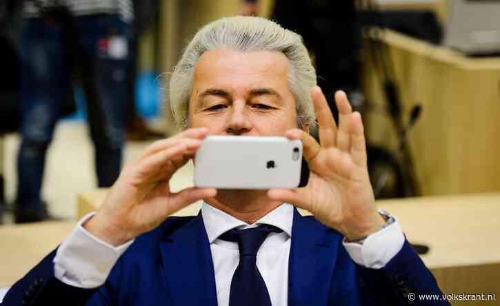 Twitterhackers hadden toegang tot de privéberichten van Geert Wilders - Volkskrant