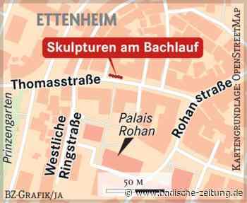 Sandsteinwürfel und Schrifttafeln - Ettenheim - Badische Zeitung