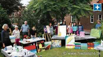 Sommerakademie bei der VHS in Wardenburg: Künstlerin Gertje Kollmann gibt Tipps zur Malerei - Nordwest-Zeitung