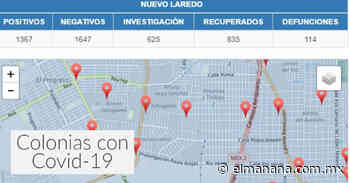 Colonias de Nuevo Laredo con más contagios de Covid-19 hoy 26 de julio - El Mañana de Nuevo Laredo