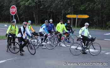 Spendenfahrt: Extreme Radtour führt durch Genthin - Volksstimme