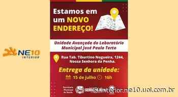 Unidade do Laboratório Municipal de Serra Talhada muda de endereço - NE10 Interior