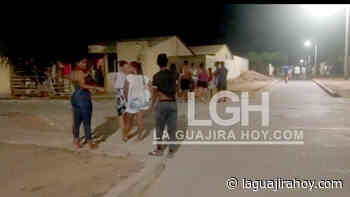 Con gases lacrimógenos buscaron acabar parranda en barrio de Maicao - La Guajira Hoy.com