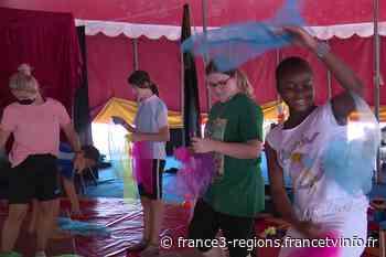Colonie de vacances à Vesoul : langue, civisme, informatique, sports, les enfants apprennent à oublier le conf - France 3 Régions
