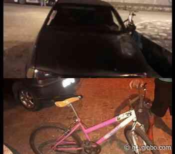 Homem sem habilitação atropela ciclista em Aracaju - G1