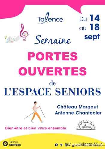 Portes ouvertes de l'espace seniors Château Margaut lundi 14 septembre 2020 - Unidivers