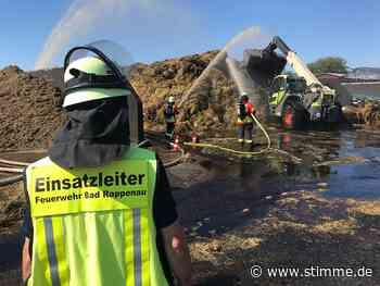 Brand auf landwirtschaftlichem Anwesen in Bad Rappenau fordert Einsatzkräfte - Heilbronner Stimme