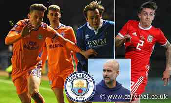 Manchester City 'set to complete the shock free signing of Cardiff defender Cameron Coxe'