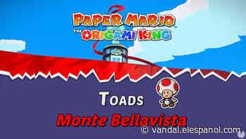 TODOS los Toads en Monte Bellavista de Paper Mario The Origami King - Vandal