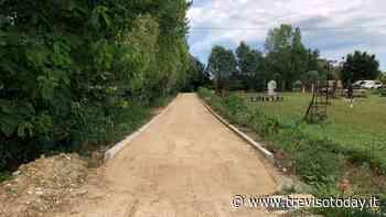 Pista ciclabile di via Roma a Resana, si prosegue con il tracciato - TrevisoToday