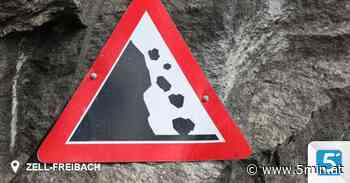 """Felsen brachen aus """"Dicker Koschuta"""" - 5 Minuten"""