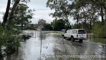 SES issues flood warnings for Shoalhaven River and St Georges Basin - South Coast Register