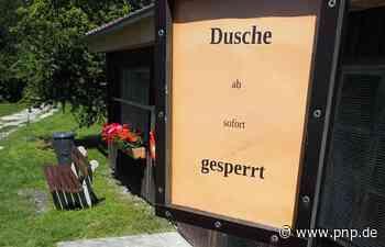 Warum man am Waldsee nicht mehr duschen kann - Passauer Neue Presse