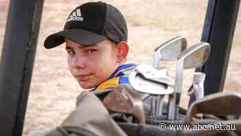 Riley Stewart, Mount Isa's 11yo prodigy with an adult golf handicap, takes out Open - ABC News
