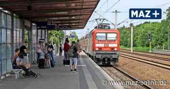 Vorschlag für Pendlerstrecke: Auf sechs Gleisen von Falkensee nach Spandau - Märkische Allgemeine Zeitung