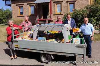 Spielsachen und Bastelmaterial für Kids: Ortsgemeinde richtete Spendensammlung aus - Kusel-Altenglan - Wochenblatt-Reporter