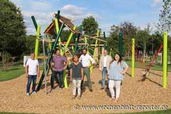 Enorme Aufwertung erreicht: SPD besichtigte neuen Spielplatz am Weiher - Kusel-Altenglan - Wochenblatt-Reporter