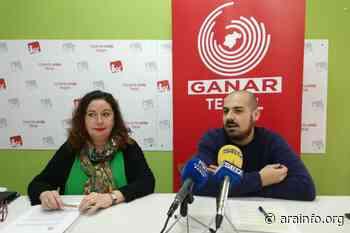 Ganar Teruel – IU traslada al ayuntamiento de la capital la defensa de los servicios de transporte con València y Zaragoza - AraInfo | Achencia de Noticias d'Aragón