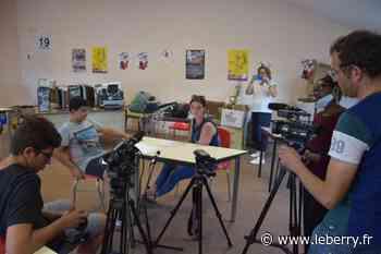 Des ados tournent un documentaire sur l'engagement, à Vierzon - Le Berry Républicain
