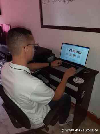 Docente de la Gobernación en San Clemente, Guática, motiva a sus estudiantes a aprender más sobre el COVID-19, pero en inglés - Eje21