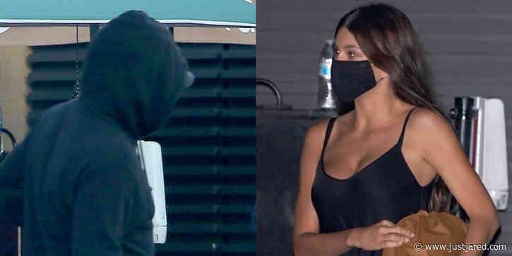 Leonardo DiCaprio Makes A Lowkey Arrival To Nobu For Date Night With Camila Morrone