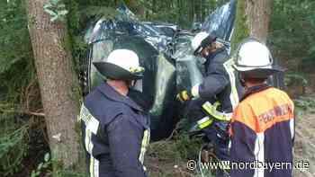 Pkw landet nach Unfall bei Wendelstein auf der Seite - Nordbayern.de