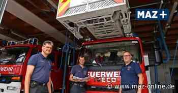 Beelitz will kräftig in die Feuerwehren investieren - Märkische Allgemeine Zeitung