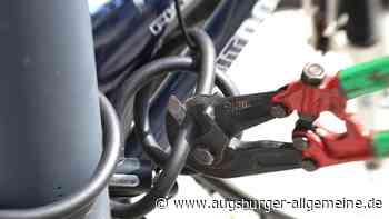 Fahrraddiebe greifen an Bahnhöfen zu - Augsburger Allgemeine