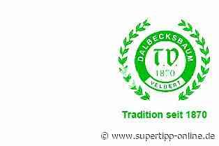 TVD Velbert: Niederrheinpokal-Halbfinale findet ohne Zuschauer statt - Sport - Supertipp Online
