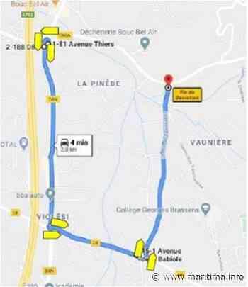 Gardanne - Environnement - Département : création d'une piste cyclable entre Bouc-Bel-Air et Gardanne - Maritima.Info - Maritima.info